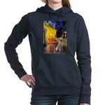Cafe - Yellow Lab 7.png Hooded Sweatshirt