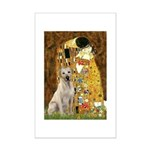 The Kiss-Yellow Lab 7.png Mini Poster Print