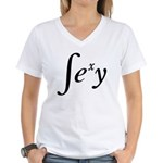 Sexy Integral Women's V-Neck T-Shirt