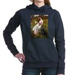 5.5x7.5-WIndflowers-Lab1.png Hooded Sweatshirt