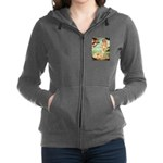 Lhasa Apso 9 - Birth of Venus.png Zip Hoodie