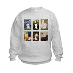 T-MPDog-2 Comp-Maltese.png Kids Sweatshirt