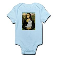 CARD-Mona-Maltese6.tif Infant Bodysuit