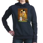THE KISS-Maltese-Rocky.png Hooded Sweatshirt