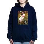 WINDFLOWERS-MalteseRocky.png Hooded Sweatshirt