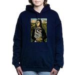 5.5x7.5-Mona-NorwElkhound.png Hooded Sweatshirt