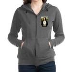 5.5x7.5-Mona-POM-Whitecream.PNG Zip Hoodie