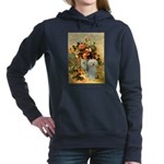 Poodle (13W) - Vase of Flowers.png Hooded Sweatshi