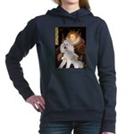 Queen / Std Poodle(w) Hooded Sweatshirt