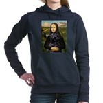 2-Mona Lisa-PWD 5.png Hooded Sweatshirt