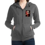 MP-LADY-Pug18-fawnsmile.png Zip Hoodie