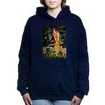 MIDEVE-Pug-Blk14.png Hooded Sweatshirt