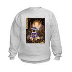 5.5x7.5-Queen-SirPug-new.PNG Kids Sweatshirt