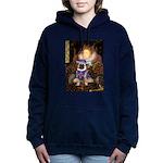 5.5x7.5-Queen-SirPug-new.PNG Hooded Sweatshirt