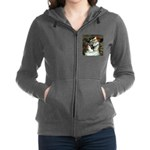 Rat Terrier - Ophelia Seated.png Zip Hoodie