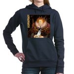 Rat Terrier - Queen.png Hooded Sweatshirt