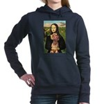 RhodesianRidgeback 1 - Mona Lisa.png Hooded Sweats