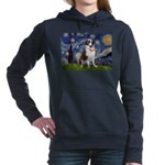 card-Starry-StBernard2.png Hooded Sweatshirt