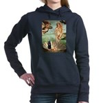 Schipperke 5 - Birth of Venus.png Hooded Sweatshir