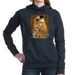 MP-Kiss-Schnauzer7.png Hooded Sweatshirt
