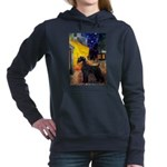 5.5x7.5-Cafe-GSchnauzr1.png Hooded Sweatshirt
