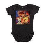 Mandolin / Scottie (w) Baby Bodysuit
