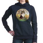 ORN-SPRING-Sheltie1.png Hooded Sweatshirt