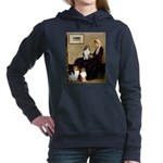 8x10-WMom-SheltieTRIO2.PNG Hooded Sweatshirt