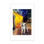 Cafe-ShibaInu-std Mini Poster Print