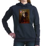 5.5x7.5-Lincoln-Corgi3.png Hooded Sweatshirt