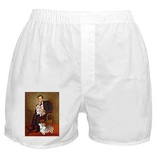 LINCOLN-CorgiPair.png Boxer Shorts