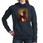 LINCOLN-CorgiPair.png Hooded Sweatshirt