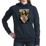 MONA-Corgi PAIR.png Hooded Sweatshirt