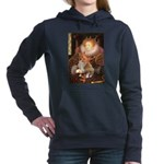 5x7-Queen--Corgi1.png Hooded Sweatshirt