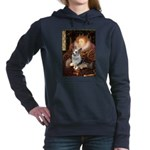 QUEEN-Corgi-Tova.png Hooded Sweatshirt
