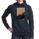 WMOM-YorkieTess-PINKhat.png Hooded Sweatshirt