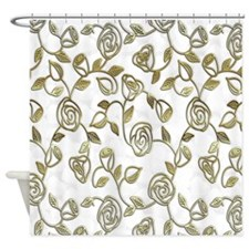 Cute Artiste Shower Curtain