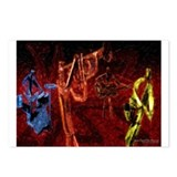 Jazz Quartet Postcards (Package of 8)