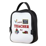 Teachers Do It With Class Neoprene Lunch Bag