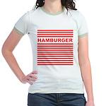 Hamburger Jr. Ringer T-Shirt