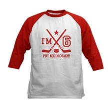 6 Year Old Hockey Tee