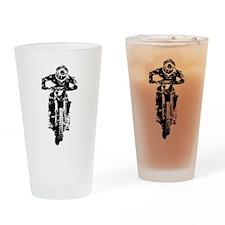 bike Drinking Glass