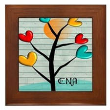CNA 4 Framed Tile