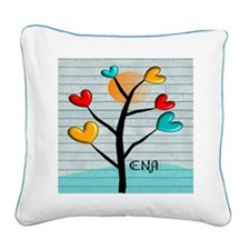 CNA 4 Square Canvas Pillow