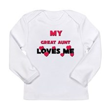 My GREAT AUNT Loves Me Long Sleeve T-Shirt
