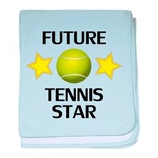 Future Tennis Star baby blanket