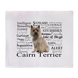 Cairn terrier Fleece Blankets