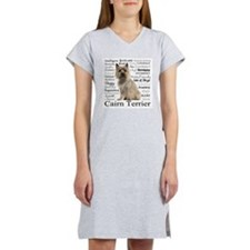 Cairn Terrier Traits Women's Nightshirt