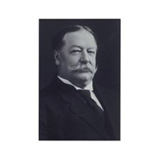 William Howard Taft Rectangle Magnet