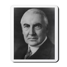 Warren G. Harding Mousepad